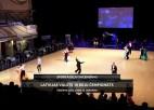 Video: Latvijas valsts čempionāts desmit dejās. Vakara daļas ieraksts.