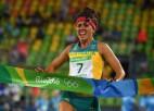 Olimpiskā čempione Espozito grūtniecības dēļ izlaidīs Tokijas olimpiskās spēles
