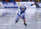 Jūtas olimpiskajā ovālā krīt vēl divi pasaules rekordi ātrslidošanā