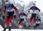 Juhannesam Bē sestā medaļa, norvēģi un francūži dominē masu startā