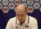 """Štelmahers: """"Ar pašreizējo pieredzi Žagaru būtu iesaistījis arī pirmajā spēlē"""""""