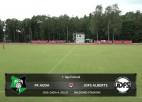 Video: 1. līga futbolā: FK Auda - JDFS Alberts. Spēles ieraksts