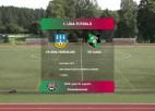 Video: 1.līga futbolā: FK Smiltene/BJSS - FK Auda. Spēles ieraksts