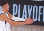 """Video: Porziņģis nopelna vietu NBA """"burbuļa"""" momentos"""