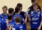 """Video: """"Lekrings"""" rezultatīvā spēlē uzveic viesus no Valmieras"""