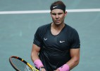"""Zverevs Parīzes """"Masters"""" pusfinālā pieveic šajā turnīrā neuzvarējušo Nadalu"""