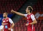 """Uldriķim izlīdzinājuma vārti pret """"Basel"""", Tarasova klubs pieveic titulēto APOEL"""