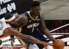 """Porziņģa """"Mavericks"""" vēlreiz tiek galā ar """"Bucks"""", Zaionam 33 minūtes uzvarā pret """"Heat"""""""