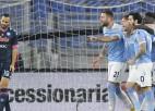 "Imobile astotie vārti sezonā, ""Lazio"" sausā uzvara pret ""Napoli"""