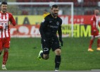 Šabalam desmit minūtes Rumānijas līgā, Dubram puslaiks pārbaudes spēlē