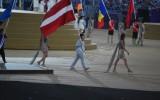 Foto: Pirmās Eiropas spēles noslēdzas ar pasaules hītu un salūtu
