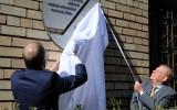 Foto: Rīgā atklāj piemiņas plāksni izcilajam trenerim Tihonovam