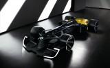"""Foto: """"Renault"""" prezentē versiju par 2027. gada F1 sacīkšu auto"""
