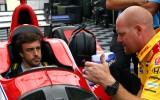 Foto: Alonso Amerikā iemēģina IndyCar formulas sēdekli
