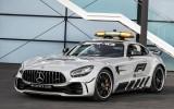 Foto: Prezentēta visu laiku jaudīgākā F1 drošības mašīna