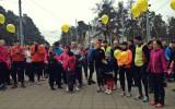 Foto: Nordea Rīgas maratona Mežaparka koptreniņi