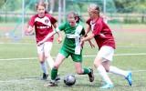 Foto: Latvijas meiteņu futbola vasaras čempionāta cīņas Olainē
