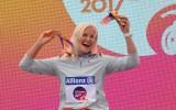 Foto: Diāna Dadzīte - pasaules čempione