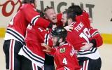 """Foto: MVP Kīts nodrošina """"Blackhawks"""" vēl vienu titulu"""