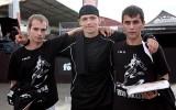 """""""Brasas"""" futbolisti labākie Ghetto ūdenspolo pie """"Skonto"""" stadiona"""