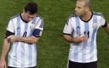 Vācija pret Argentīnu - centrālā ass