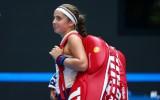 """Pasaules reakcija: Ostapenko otrajā pilnajā """"tūres"""" gadā sasniedz WTA finālus"""