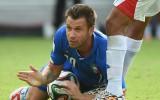 Bijušais Itālijas izlases futbolists Kasāno trešo reizi beidz karjeru