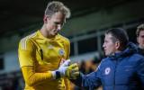 Latvijas U21 izlases vārtsargam Matrevicam iespaidīga atvairījumu sērija Anglijā