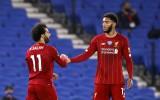 """Salāhs iesit divus un piespēlē, """"Liverpool"""" kārtējā uzvara šajā sezonā"""