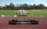 Video: Latvijas čempionāts vieglatlētikā pieaugušajiem un U23 grupā. Sacensību 1.dienas ieraksts