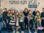 Video: Jauniešu popgrupa NANDO prezentē jaunu albumu