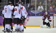 Foto: Latvija liek nodrebēt varenajai Kanādai