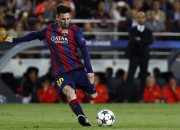 """Mesi divi vārti, """"Barcelona"""" sper platu soli pretī finālam"""