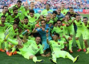 """Barcelona"" izcīna Spānijas čempiones titulu"