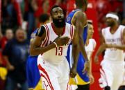 "Hārdenam 45 punkti, ""Rockets"" vēl neielaiž ""Warriors"" NBA finālā"