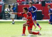 Pasaules kausā sievietēm Japāna pieveic Angliju un iekļūst finālā