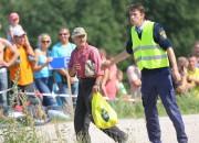 """Ātruma festivāla - rallija """"Kurzeme 2015"""" rīkotāji aicina skatītājus būt piesardzīgiem"""