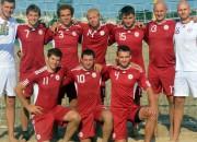 Latvijas pludmales futbola izlase pasaules rangā dala 93. vietu
