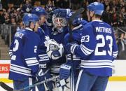 """Maple Leafs"" vārtsargs Spārkss NHL debitē ar ""sauso"" spēli"