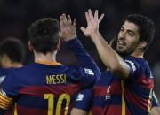 """Barcelona"" saplēš Valensiju lupatu lēveros, Svaresam četri vārti"