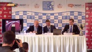 Video: LK futbolā 1/4 fināla pāru izloze un LFF preses konference
