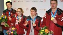 Latvijas medaļnieki atgriežas no jaunatnes olimpiskajām spēlēm