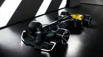 """""""Renault"""" prezentē versiju par 2027. gada F1 sacīkšu auto"""