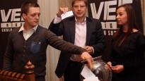 """Nils Ušakovs: """"Rīgas prioritātes sportā ir jaunatnes hokejs un basketbols"""""""