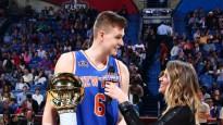 Porziņģis triumfē NBA Prasmju konkursā