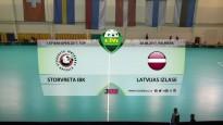 Latvian Open florbolā: Storvreta IBK - Latvijas izlase. Spēles ieraksts