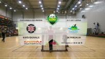Elvi florbola līga: FK Kurši/Ekovalis - SK Pārgauja. Spēles ieraksts