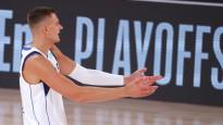 """Porziņģis nopelna vietu NBA """"burbuļa"""" momentos"""