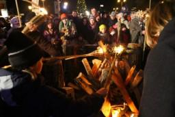 Ziemas saulgriežos aicina svinēt Bluķa vakaru Vecrīgā