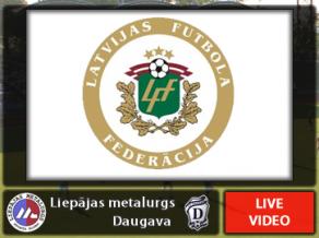 18:00 Liepājas metalurgs - Daugava